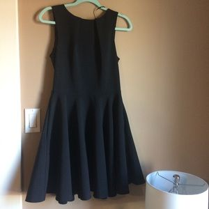 CLOSET LONDON black cocktail dress w/ pockets